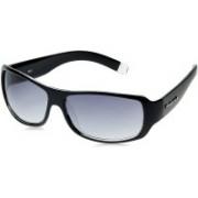 Fastrack Wrap-around Sunglasses(Blue, Grey)