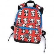 Pick & PackRyggsäck, Panda, Röd