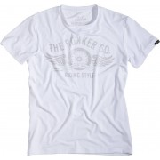 Rokker Performance Riding Style T-shirt Blanco XS