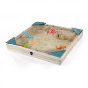 Cutie de nisip din lemn Junior 90x90 Plum