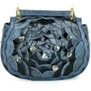 Da Milano Women Casual Multicolor Genuine Leather Sling Bag