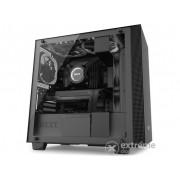 Carcasa PC NZXT MicroATX H400i window, negru (CA-H400W-BB)
