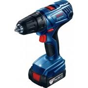 Maşină de găurit/înşurubat Bosch Professional GSR 140-LI, 14.4 V, 1700 rpm, Acumulator, Albastru, 06019F8000