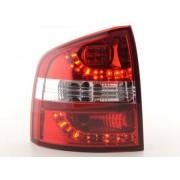 FK-Automotive LED Feux arrieres pour Skoda Octavia Combi (type 1Z) An 05-, rouge/clair