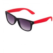 Agera Ag1002 Black Red With Gradient Grey Lens Wayafer Sunglass