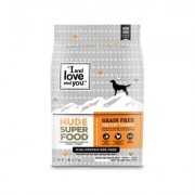 I and Love and You Nude Super Food Poultry Palooza Grain-Free Dry Dog Food, 5-lb bag