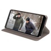 Protectie Book Cover Nokia Flip Entertainment CP-251 Cream pentru Nokia 5.1 Plus (Bej)