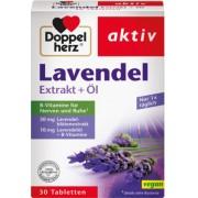 Queisser Pharma GmbH & Co. KG DOPPELHERZ Lavendel Extrakt+Öl Tabletten 30 St