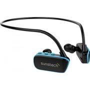 Sunstech Argos Sports Wireless Headphone Negro y Azul 4GB,B