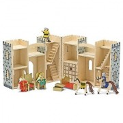 Melissa & Doug Fold & Go Wooden Castle