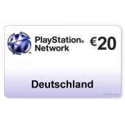 Sony (DE) PlayStation Network PSN Card 20EUR