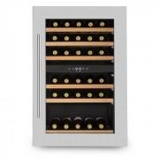 KLARSTEIN VINSIDER 35D, frigider integrat de vin, 128 de litri, 41 de sticle de vin, 2 zone