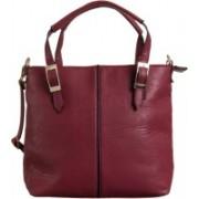 Peaubella Shoulder Bag(Maroon)
