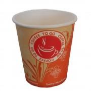 Pahare Cafea din Carton 8 Oz Coffee To Go (235 ml), 1000 Buc/Bax - Pentru Bauturi Calde