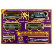 Пушещ влак и релси (552см) EmonaMall - Код W3443