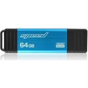 Stick USB GOODRAM Speed, 64GB, USB 3.0 (Albastru)