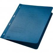Dosar cu capse 1/1 Leitz, carton, albastru
