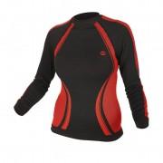 Термо блуза Lady Rico - черно/червена