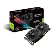 Placa video Asus NVIDIA GeForce GTX 1050 TI, STRIX-GTX1050TI-4G-GAMING, PCI Express 3.0, GDDR5 4GB, 128-bit, 1290 MHz/1392 MHz, 7008 MHz, DVI*