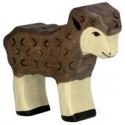 Fa játék állatok - bárány, fekete