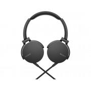Sony Auriculares con cable SONY MDR-XB550AP (On ear - Micrófono - Atiende llamadas - Negro)
