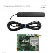 Eldes GSM volač ESIM252 - PCB