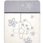 Бебешко одеяло Teddy, сиво, 0201, BabyMatex, 5902675041720