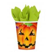 Vegaoo 8 Pumpamuggar till Halloweenfesten One-Size