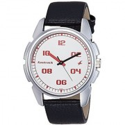 Fastrack Casual Analog White Dial Mens Watch - 3124Sl01