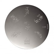 KONAD nagelstempel M38