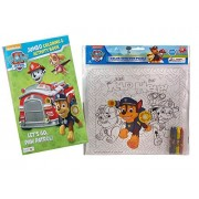 """Paw Patrol's Just Yelp For Help Creative Imagination """"Color Your Own"""" Puzzle! Plus Bonus Paw Patrol Jumbo Coloring & Activity Book!"""