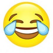 Mouse Pad Emoji Chorando de Rir Emoticon