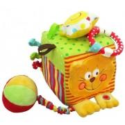 Baby Mix cicás plüsskocka, fejlesztő játék