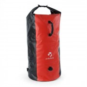 Yukatana Quintono 100 Trekking mochila 100 litros impermeable negro/rojo (FIT25-Quintono 100)