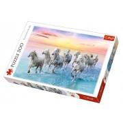 Trefl Puzzle Slagalica Galloping white horses 500 kom (37289)