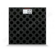 Soehnle 63358 Maya Digital Black Edition Circles Pèse-personne numérique Plastique Noir 31 x 30,7 x 3,5 cm