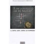 Pe cine incomodeaza ora de religie - Constantin Necula
