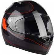 Lazer Kestrel Lumino Signature Pure Carbon Casco Antracita/Rojo MS (57)