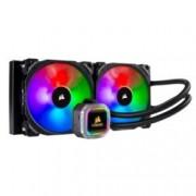 Водно охлаждане за процесор Corsair Hydro Series H115i RGB PLATINUM 280mm, съвместимост със сокети LGA Intel 115x/2011/2066 & AMD AM3/AM2/AM4/TR4