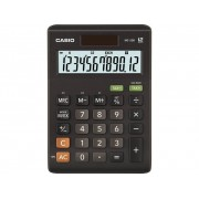 Casio MS-20B Bordsräknare Svart Display (ställen): 12 solcell, batteri (BxHxD) 103 x 29 x 147 mm