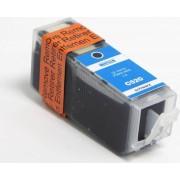 Compedo Vervanging printer inktcartridge Canon CLI-521 chip cyaan