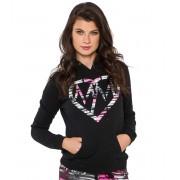 kapucnis pulóver női - ACTION - METAL MULISHA - BLK_SP6721000.01
