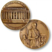 Lincoln Memorial National Monument Challenge Coin