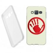 Husa Samsung Galaxy J5 J500 Silicon Gel Tpu Model Stop Hand