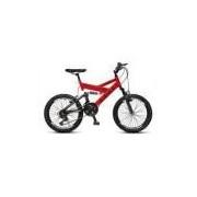 Bicicleta Colli Fulls Gps Aro 20 Dupla Suspensão 21 Marchas - 310.16d