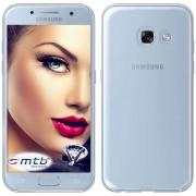 Mtb More Energy® Coque Ultra-Mince Pour Samsung Galaxy A3 2017 (Sm-A320, 4.7'') | Transparent | Souple | Tpu Gel Housse Poche Étui De Protection