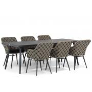 Lifestyle Garden Furniture Lifestyle Crossway/Valencia 220 cm dining tuinset 7-delig