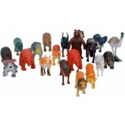 Wild Animals Toys For Kids ( 20 Pcs. Pack )
