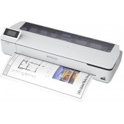 "Epson SureColor SC-T5100N - 36"" groot formaat printer - kleur - inktjet - Rol (91,4 cm) - 2400 x 1200 dpi - Gigabit LAN, Wi-Fi(n), USB 3.0"