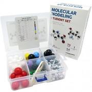 Lazy Dog Warehouse Chemistry Molecular Model Kit - Organic and Inorganic Modeling Student Set (124 Pieces)